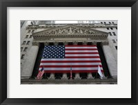 Framed New York Stock Exchange