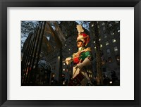 Framed Rockefeller Center Toy Soldier