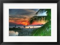 Framed Smathers Sunset