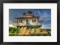 Framed Carolina Lighthouse