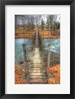 Framed Footbridge Vertical