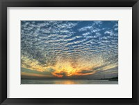 Framed Key West Blue Sunset I