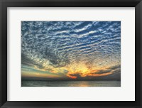 Framed Key West Blue Sunset II