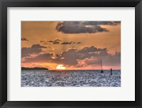Framed Key West Sunrise II