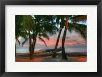 Framed Key West Sunrise V