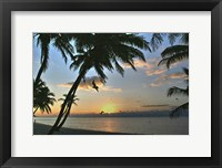 Framed Key West Sunrise VII