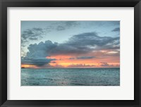 Framed Key West Sunset V