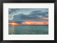 Framed Key West Sunset VI