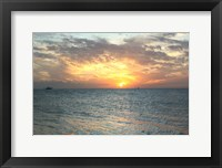 Framed Key West Sunset VII