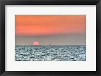Framed Key West Sunset X