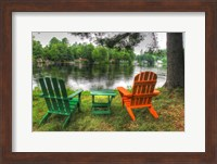 Framed Lakeside Chairs