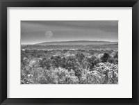 Framed Moonrise B&W