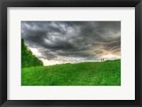 Framed Storm Cloud Hill