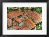 Framed Tuscan Roofs