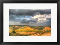 Framed Tuscan Storm II