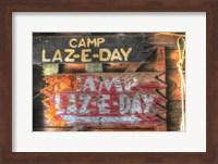 Framed Camp Laz-E-Day