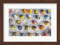 Framed Rubber Duckies from Above