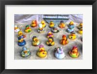 Framed Rubber Duckies