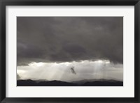 Framed Mountain Clouds 1