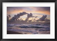 Framed Ocean Sunrise 1