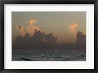Framed Ocean Sunrise 3