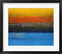 Framed Eastern Seaboard I