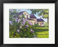 Framed Lilac Bush