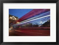 Framed Bus Tower Bridge