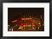 Framed Hotel du Louvre