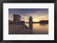 Framed Port de la Rochelle