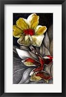 Framed Stone Flower