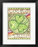 Framed Luck O' The Irish