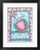 Framed Celebrate Summer
