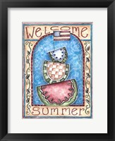 Framed Welcome Summer