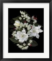 Framed Bleeding Hearts & Gardenia