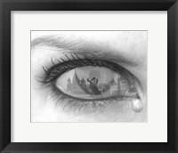 Framed Tearful Encounter