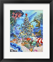 Framed Christmas Under The Sea