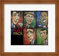 Framed Rat Pack