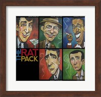 Framed Rat Pack