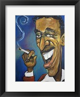 Sammy Davis Jr. Framed Print