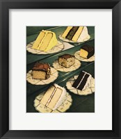 Framed Cake Slices