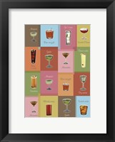 Framed Cocktails Matrix