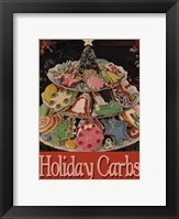 Framed Happy Holiday Carbs