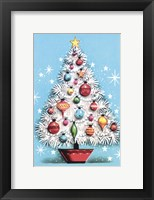 Framed Holiday Christmas Tree