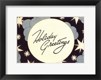 Framed Holiday Greetings