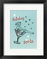 Framed Holiday Spirits