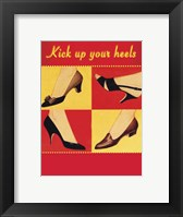Framed Kick Your Heels