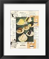 Framed Menu Cakes