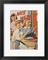 Framed Nice Weiner