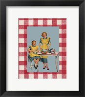 Framed Picnic Mom